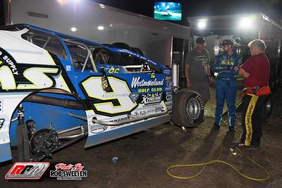 Volusia Speedway Park - Dirt Modifieds - 2/12/21 - Rob Sweeten