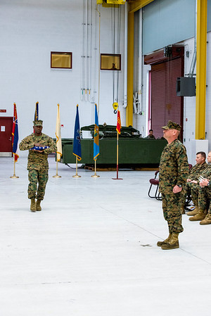 MGySgt Bunnell's Retirement