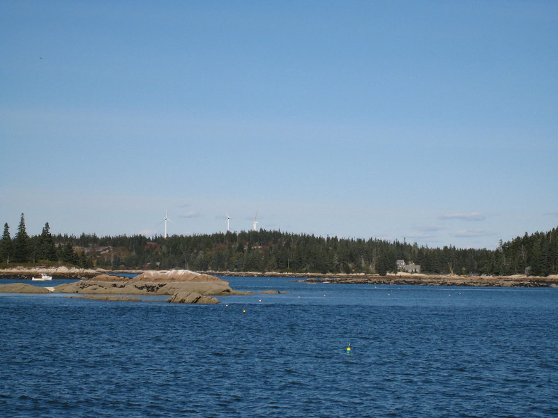 On the ferry to Vinalhaven Island
