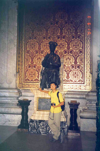 Rubbing St Peter's Feet.jpg