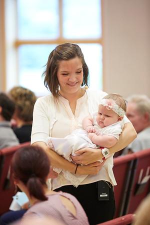 Kayla's Baptism!