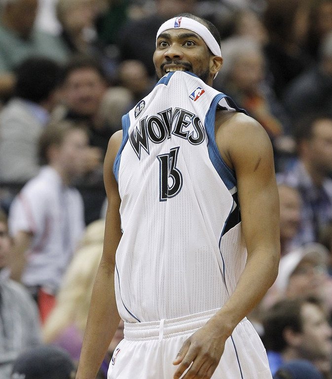 ". <p>4. (tie) COREY BREWER <p>You don�t have the slightest idea how he scored 51 points, and neither does he. (unranked) <p><b><a href=\'http://www.twincities.com/timberwolves/ci_25550328/timberwolves-corey-brewer-scores-franchise-record-51-win\' target=""_blank\""> HUH?</a></b> <p>    (AP Photo/Ann Heisenfelt)"