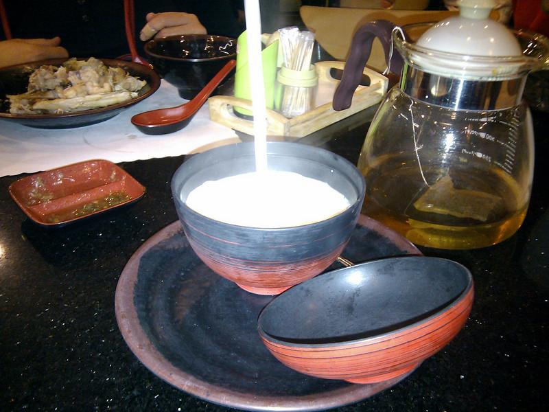 Hong Kong Kitchen - Fresh Ginger Juice with Milk Custard