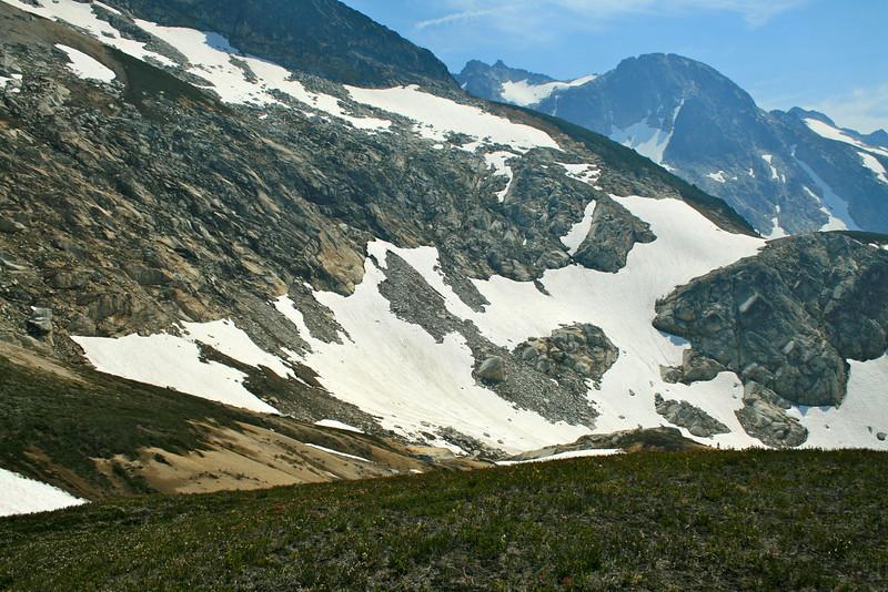Snow Traverse to High Pass.