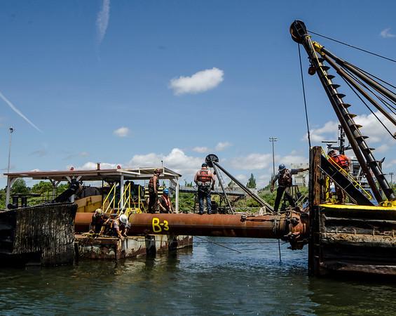 Port Of Portland - Dredge Test Photos
