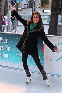 Kristi Yamaguchi Downtown Ice Grand Opening 2014