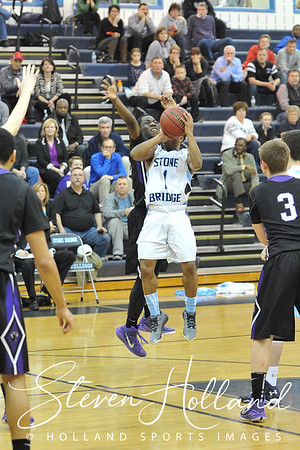 Boys Basketball - Varsity: Stone Bridge vs Potomac Falls 2.9.2015 (by Steven Holland)