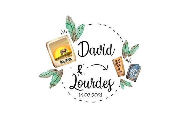 David & Lourdes - 16 julio 2021