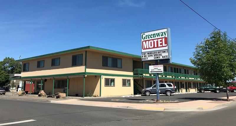 This had been my Redmond, Oregon based motel.