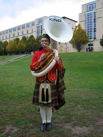 Kiltie Band 2004