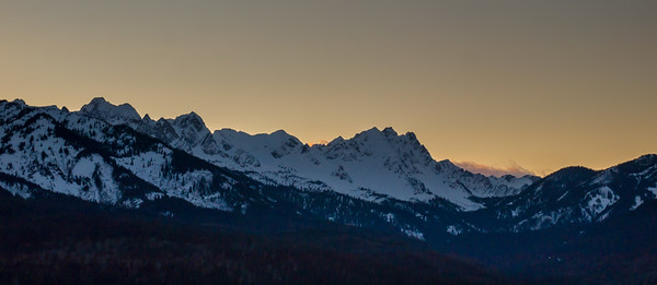 Lizard Range, Fernie, British Columbia