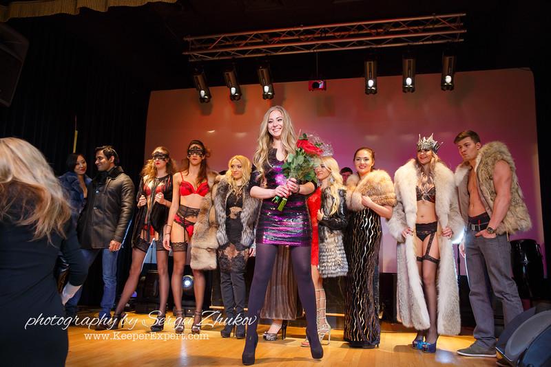 Valentines Day Fashion Show at Petergof