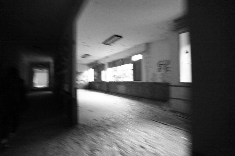 padiglione Sarteschi - corridoi secondo piano.