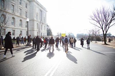 #ForceTheVote, Washington DC, January 2