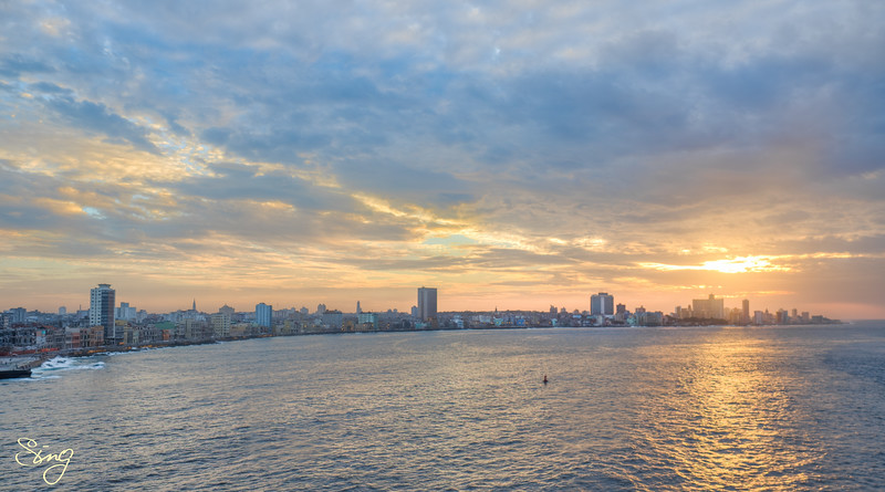 Panorama Sunset. La Habana, Cuba