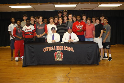 2015 CHS Signings Baseball and Basketball
