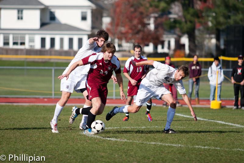 Boys Soccer vs. Exeter 11/12/2011