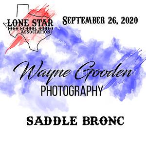 LSHSRA Saddle Bronc
