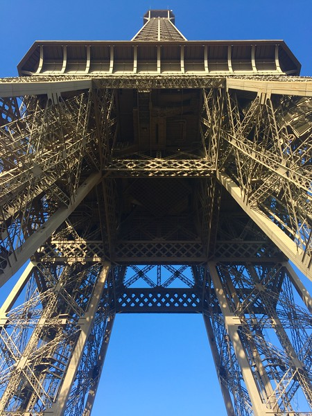 Tour Eiffel, Champ de Mars, Paris, France