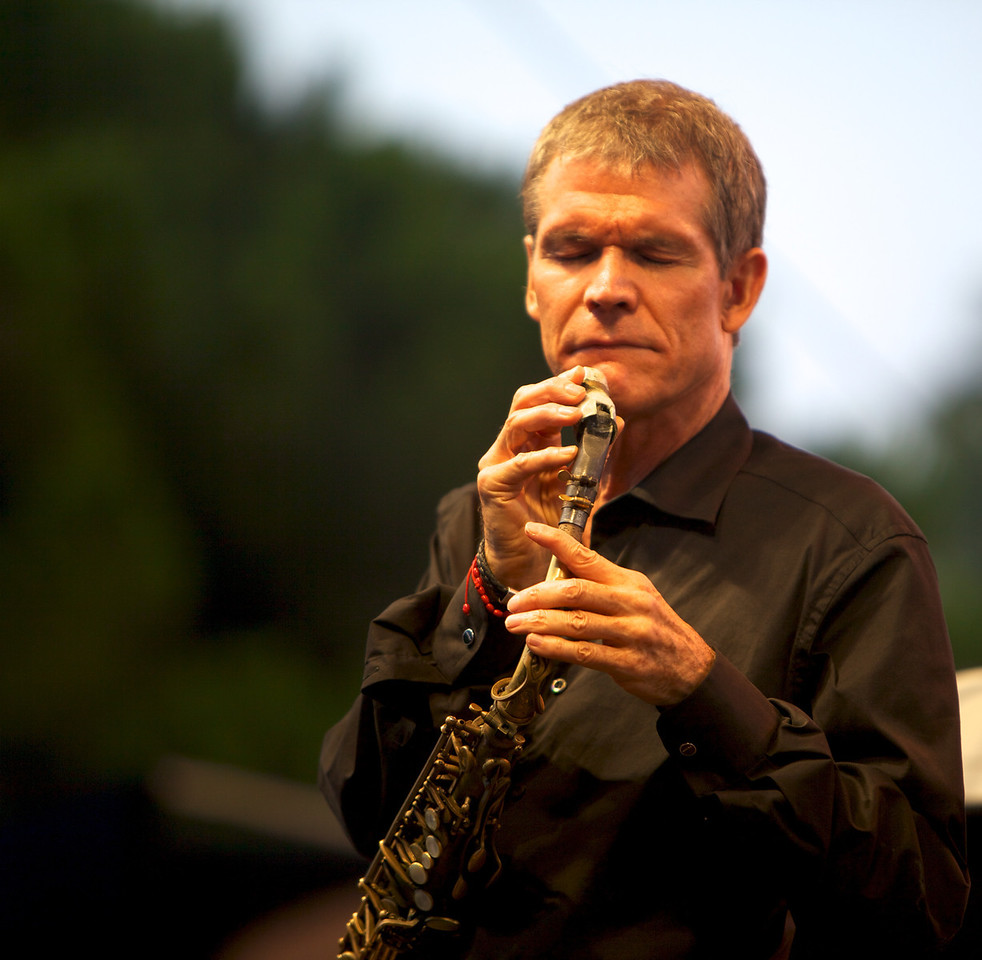 David Sanborn in concert at Jazz à Juan 2010