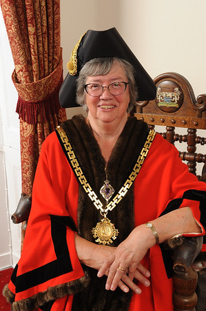 Beryl Wrangles, Mayor of Hertford