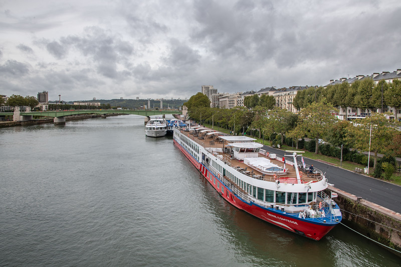 Barges on the Seine