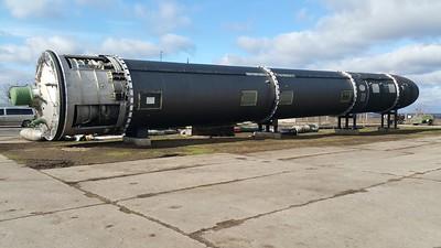 Soviet Missile Base Pervomaysk Ukraine 2018