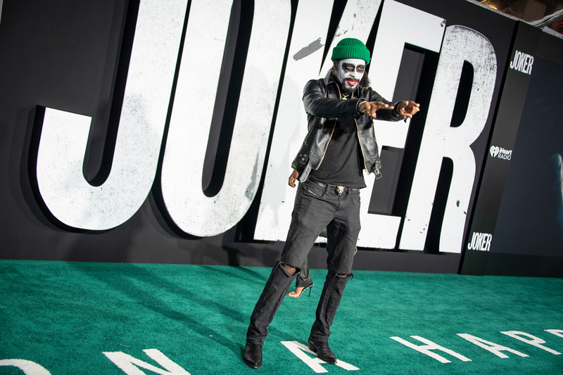 "HOLLYWOOD, CALIFORNIA - SEPTEMBER 28: Lakeith Stanfield attends the premiere of Warner Bros Pictures ""Joker"" on Saturday, September 28, 2019 in Hollywood, California. (Photo by Tom Sorensen/Moovieboy Pictures)"