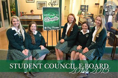 Student Council E-Board 2014 - 2015