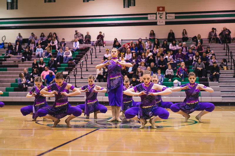 Dance Olympics at Kentwood 2.24.18