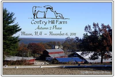 Contry Hill Farm Autumn 2 Phase, November 6, 2011