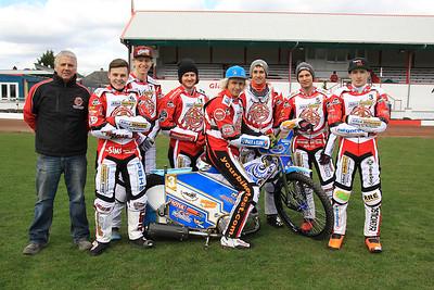Glasgow Tigers riders 2015