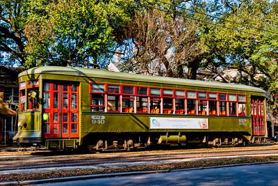 The St. Charles Street Car Line