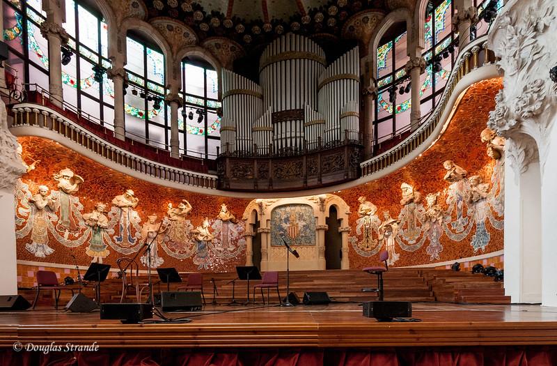 Barcelona: Palace of Catalan Music