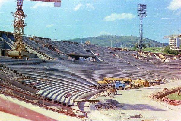 Rekonstrukcija stadiona Koševo za Olimpijadu