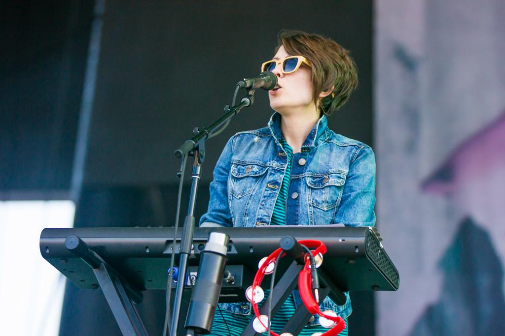 Description of . Tegan and Sara at Lollapalooza