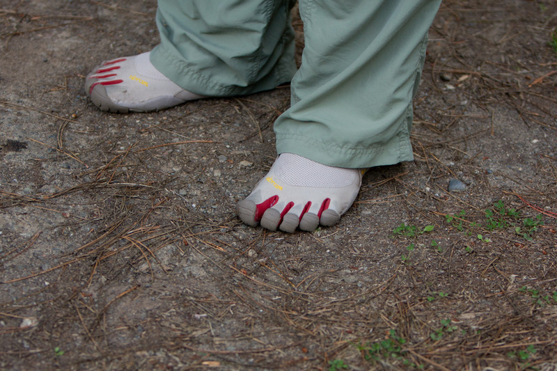 Who's Feet?