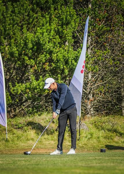 GSE, Hrafn Guðlaugsson Íslandsmót í golfi 2019 - Grafarholt 2. keppnisdagur Mynd: seth@golf.is