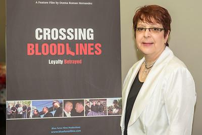 Crossing Bloodlines Movie Premiere - Donna Roman Hernandez
