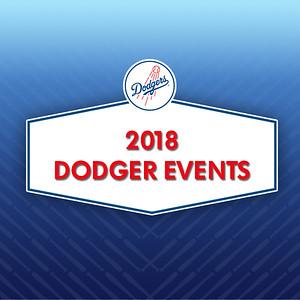 2018 Dodger Events