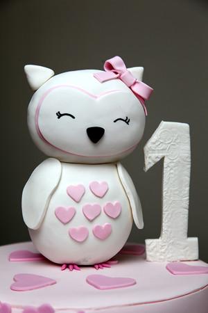 Alessandra's first birthday