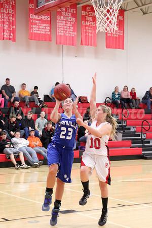 Girls Basketball, Danville vs Harmony 12/3/2013