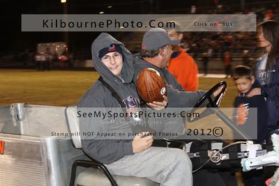 Senior Night at Bullitt Park 11-2-2012