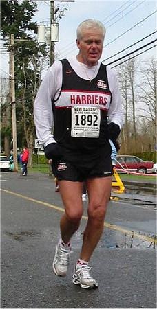 2003 Comox Valley Half Marathon - Brian Mader runs eight minutes faster than at Las Vegas