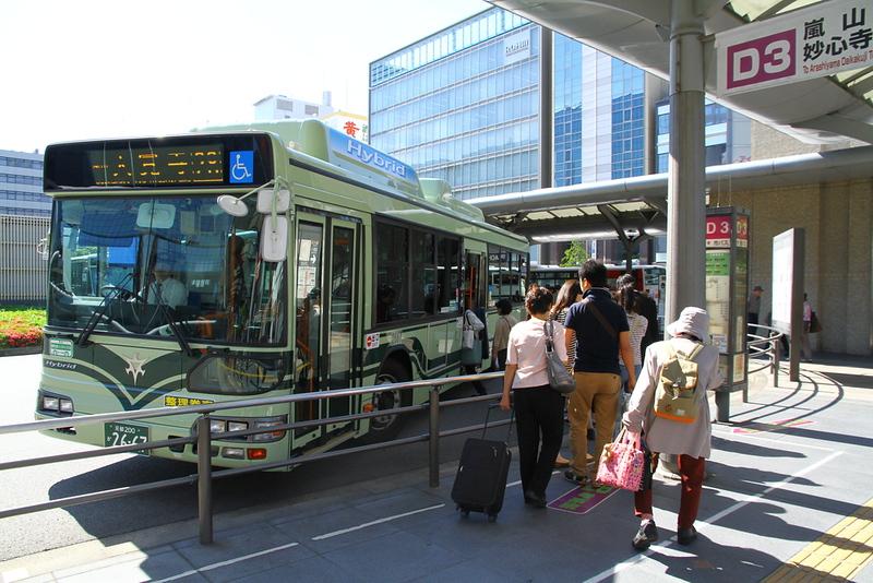Kyoto Bus. Editorial credit: Yasemin Olgunoz Berber / Shutterstock.com