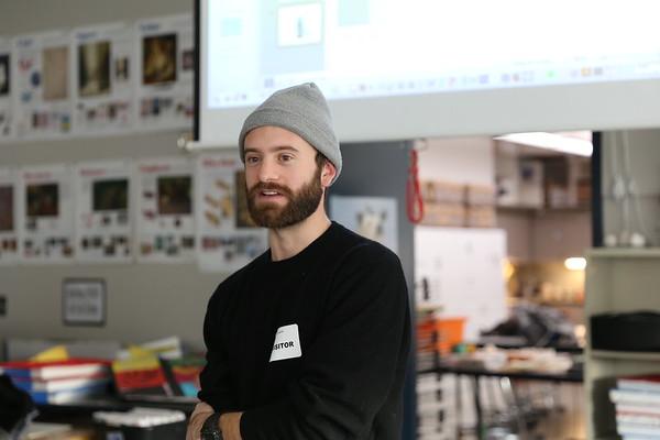 2017 Luke Armistead '07 Talks with SAAS Art Students