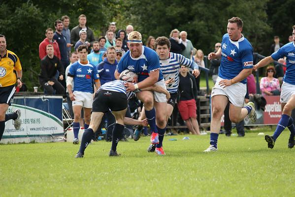 1st XV v Blackrock - LSLC 23.08.2014 by Kevin Hegarty