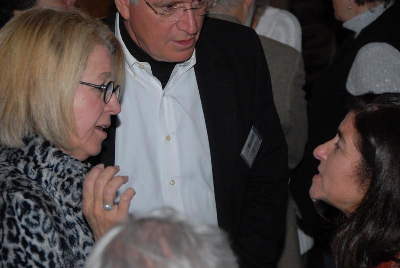 Betty and Greg Golfrey, and Jimena Vignola