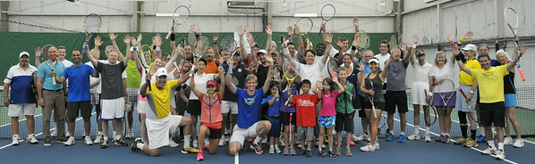 Wayne Bryan Tennis Clinic with Kevin Anderson and Lauren Davis