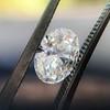 1.05ct Oval Cut Diamond GIA H SI1 11